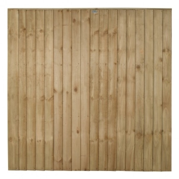 Vertical Board Fence Panel 6ft