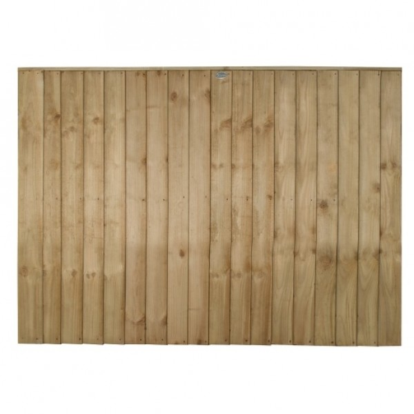 Vertical Board Fence Panel 4ft