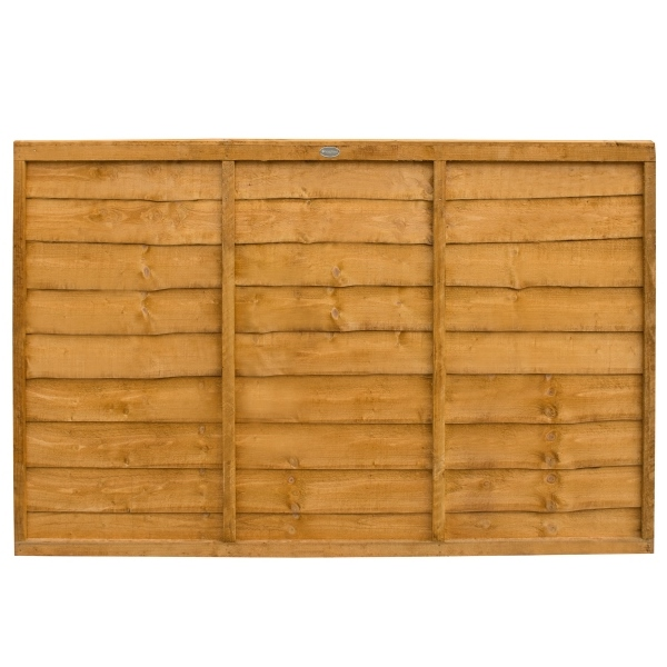 Trade Lap Fence Panel 4ft