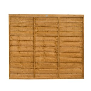 Trade Lap Fence Panel 5ft