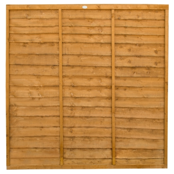 Trade Lap Fence Panel 6ft