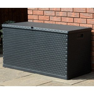 Rattan Effect Storage Box (420 Litre)