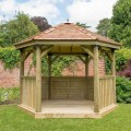 3.6m Hexagonal Gazebo