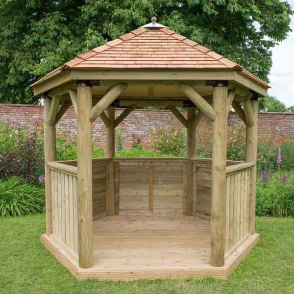 3m Hexagonal Gazebo