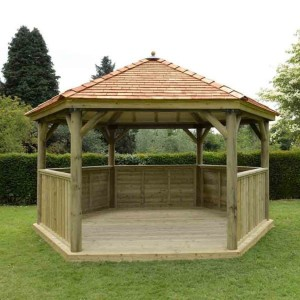 4.7m Hexagonal Gazebo