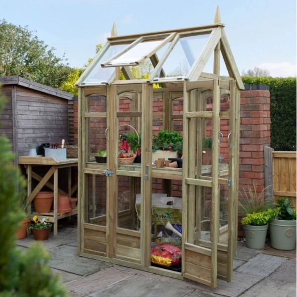 Victorian Walkaround Greenhouse