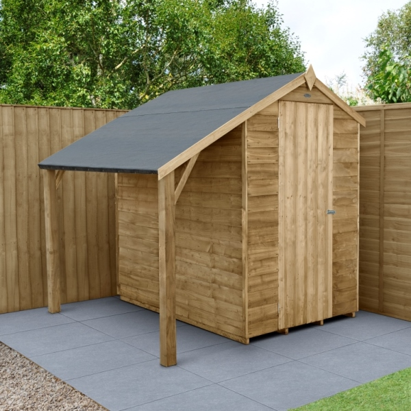 Lean To Kit for Overlap 4 x 6 Sheds