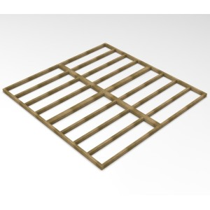 Forest Overlap 10 x 10 Shed Base