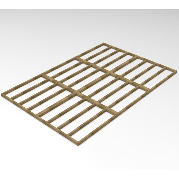 Forest Overlap 10 x 15 Shed Base