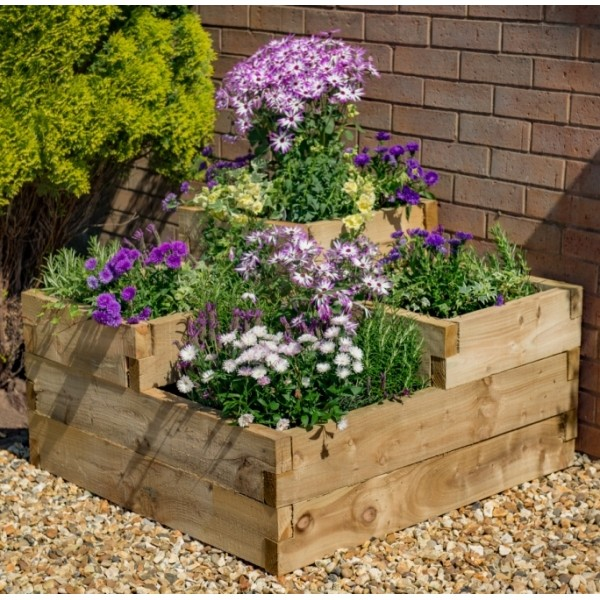 Caledonian Tiered Planter