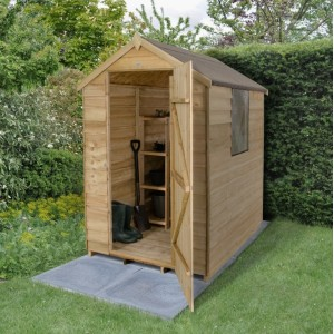 Forest 6 x 4 Pressure Treated Apex Shed