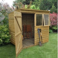 Forest 7 x 5 Tongue & Groove Pent Shed