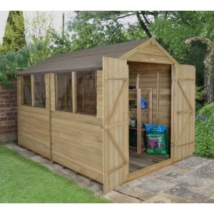 Forest 8 x 10 Pressure Treated Shed