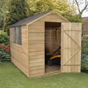 Forest 8 x 6 Pressure Treated Apex Shed