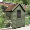 Redwood Lap Forest Retreat 5 x 8 Shed