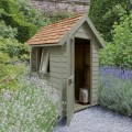 Redwood Lap Forest Retreat 4 x 6 Shed