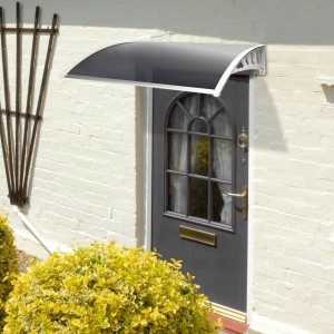 1.2m Tinted Door Canopy
