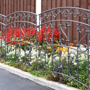 Ornate Border Edging Fence Panel