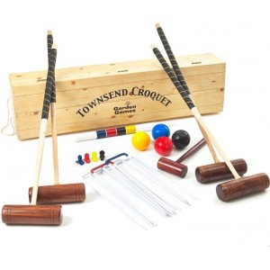 Townsend Boxed Croquet Set