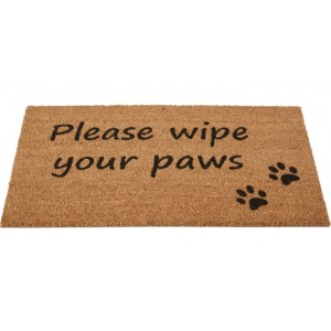Please Wipe Your Paws Coir Doormat