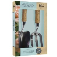Stainless Steel Hand Trowel & Fork Gift Set