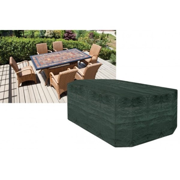 6 Seater Rectangular Patio Set Cover