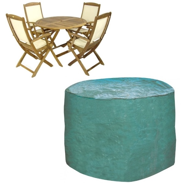4 to 6 Seater Round Furniture Set Cover