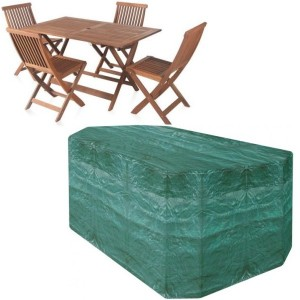 4 Seater Rectangular Patio Set Cover