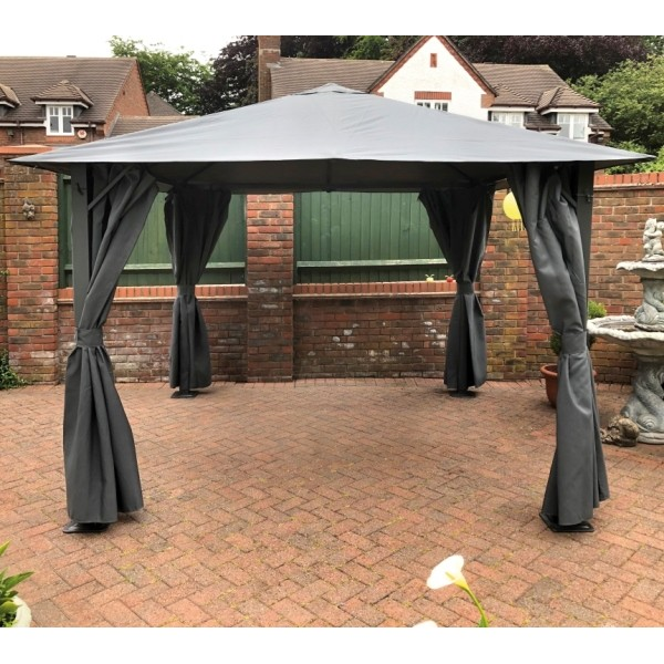 Highfield Grey Gazebo
