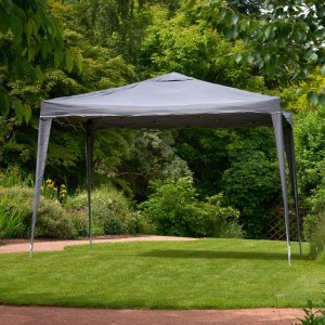 Easy Up Grey Gazebo