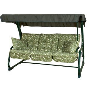 Country Green Pendulum Bed
