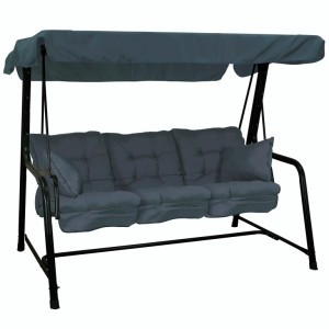 Grey 3 Seater Hammock