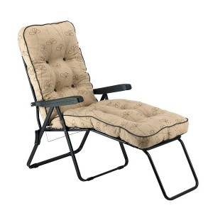 Nancy Noir Padded Sun Lounger