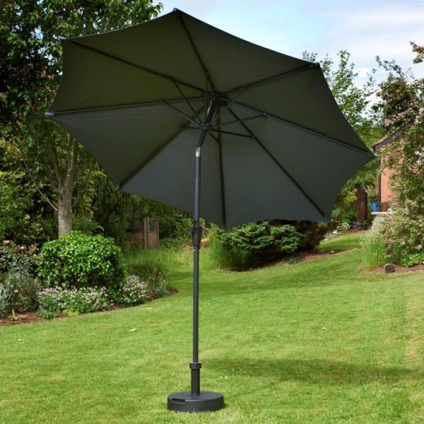 Grey Garden Parasol