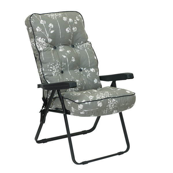 Renaissance Grey Recliner