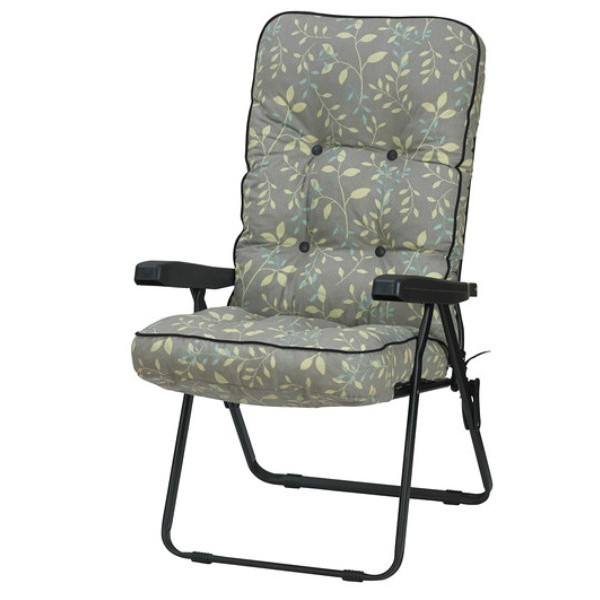 Country Teal Recliner