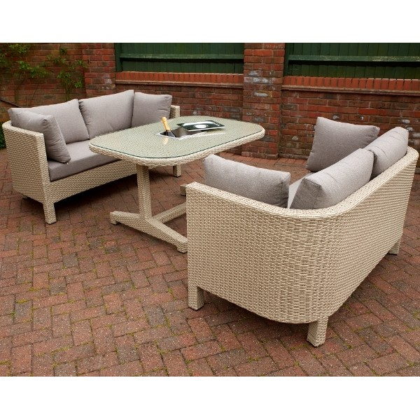 Annecy Rattan Outdoor Lounge Set