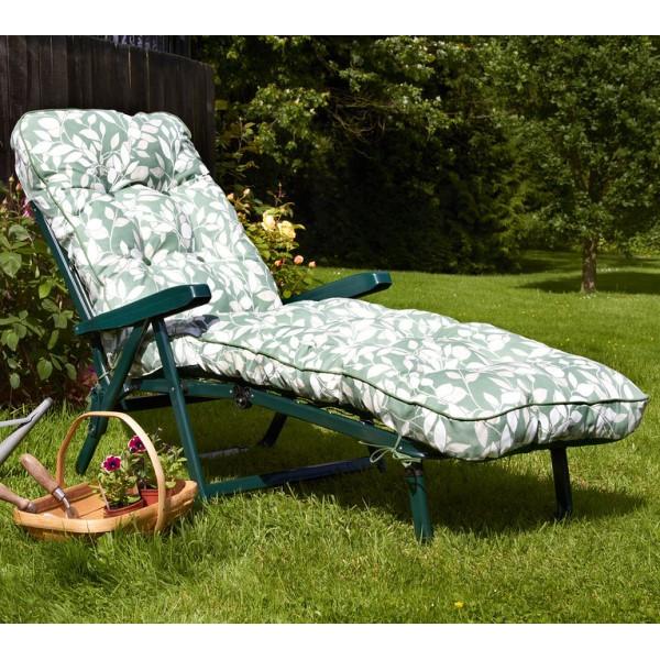 Cotswold Leaf Luxury Sunbed