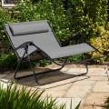 Grey Textaline Twin Seat Relaxer
