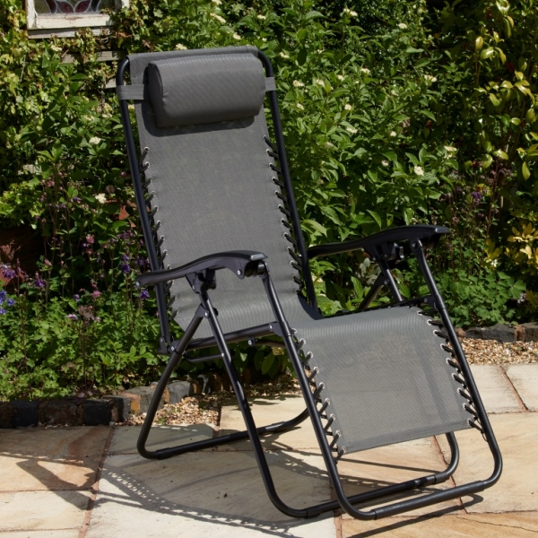 Grey Textaline Relaxer Chair (Pack of 2)