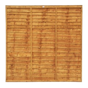 Grange Lap Wooden Fence Panel