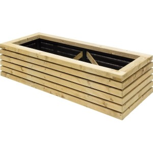 Contemporary Rectangular Planter