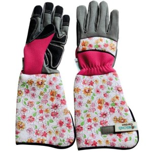 Ladies Floral Gauntlets