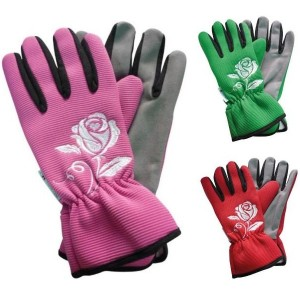 Ladies Padded Gardening Gloves