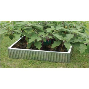 Galvanised Square Raised Bed