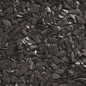 Charcoal Black Slate Chippings 20mm - Bulk Bag