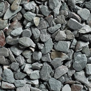 Green Slate Chippings - Bulk Bag