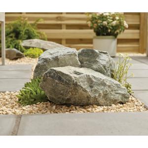 Highland Grey Rockery Stone: 80 Pieces