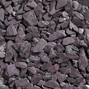 Plum Slate Chippings 40mm - Bulk Bag