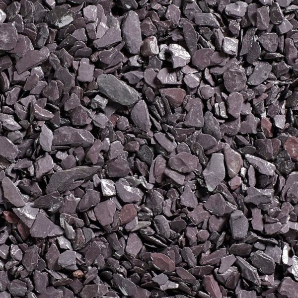 Plum Slate Chippings 20mm - Bulk Bag